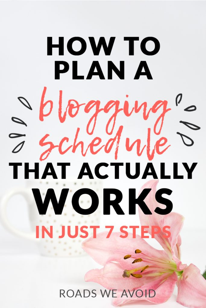 My 7 Step blogging Schedule to Ace the Game